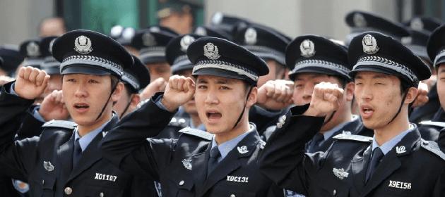 Enregistrement à la police