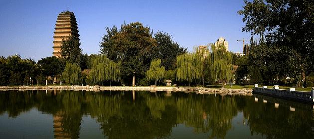 La petite pagode de l'oie sauvage – 小雁塔