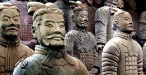 Soldats en terre cuite a Xian