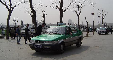 Taxi à Xian