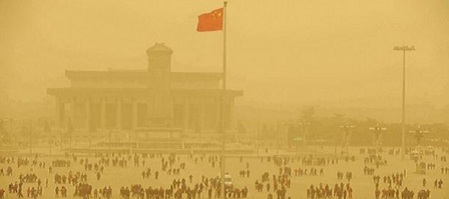 Les tempêtes de sable en Chine