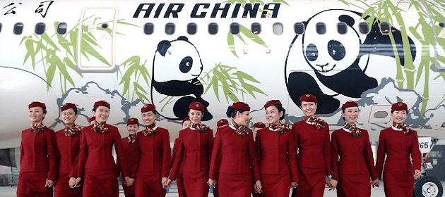 L'avion en Chine