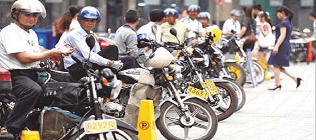 Les moto-taxi
