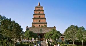 Temple Da Ci' et Grande Pagode de l'Oie Sauvage
