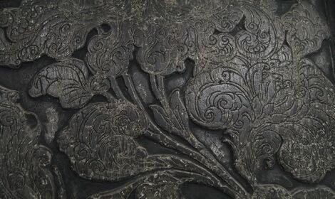 Detail d'une stele