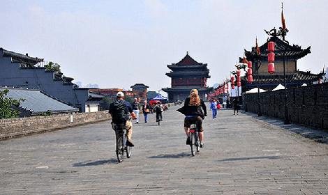 Velo remparts Xian